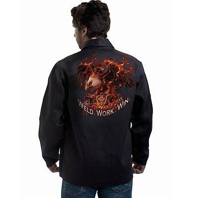 Tillman 9063 Weld.work.win. Black Onyx Welding Jacket - L