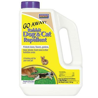BONIDE 871 (BND871)-Go Away Rabbit, Dog & Cat, Outdoor Animal Repellent Granules