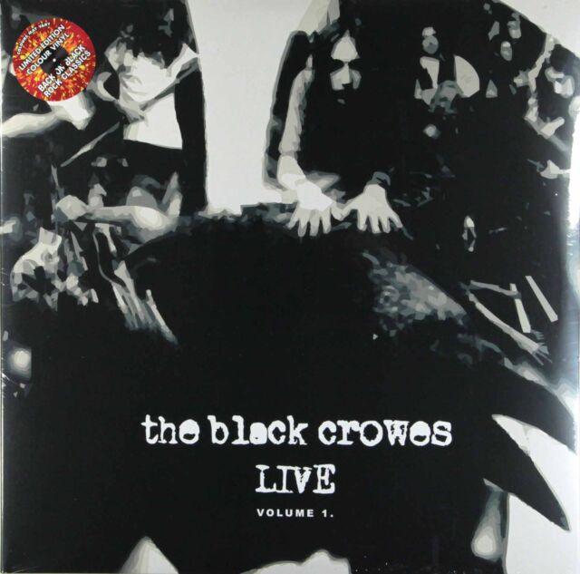 The Black Crowes - Live Volume 1 (Ltd 2 x 180g Coloured Vinyl LP) New & Sealed