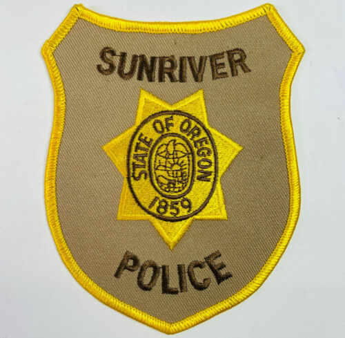 Sunriver Police Deschutes County Oregon OR Patch (B)