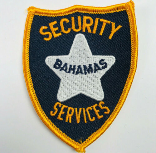 Bahamas Security Services Patch