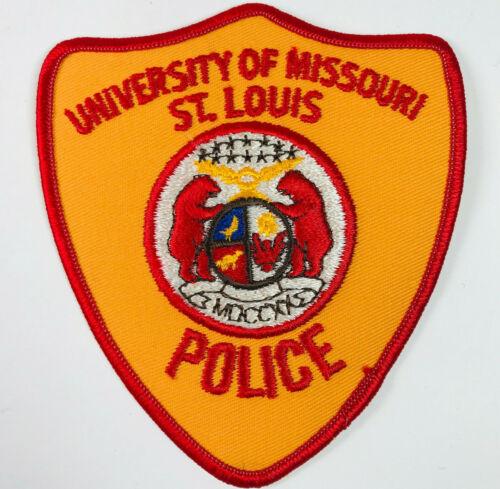 University of Missouri St Louis Police Patch
