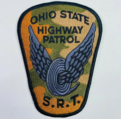 Ohio State Highway Patrol SRT Special Response Team Camo Tactical OH Patch (A1)