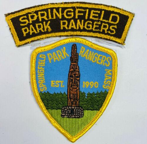 Springfield Park Rangers Massachusetts MA Patch (A4)