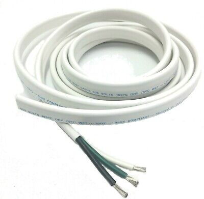 103 Awg Gauge Marine Grade Wire Ac Boat Cable Tinned Copper Flat Tiplex