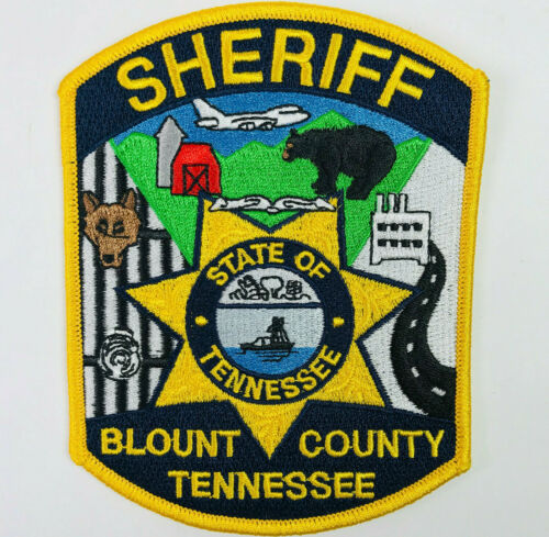 Blount County Sheriff Tennessee TN Patch (A1-A)
