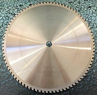 New 16 Rotadry Metal Carbide Chop Saw Blade 84 Teeth 1 Arbor 1200 Rpm 84t