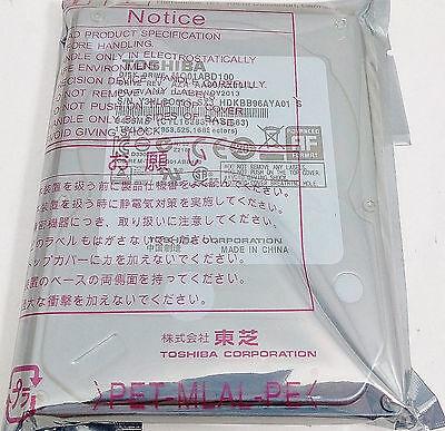 """New Toshiba 1TB/1000GB SATA Notebook Laptop 2.5"""" Internal Hard Drive MQ01ABD100"""