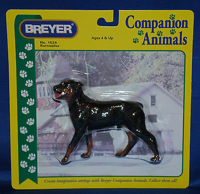 Breyer 2004 06 Rottweiler Dog Rare  Nib Companion Animal