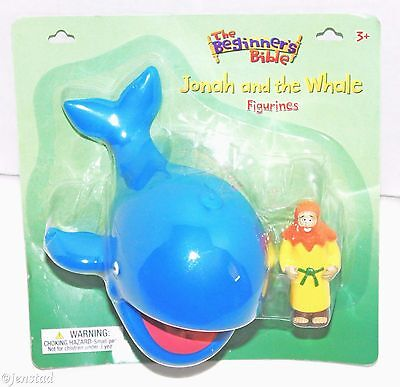 JONAH AND THE WHALE CHRISTIAN TOY FIGURE FROM THE BEGINNERS BIBLE FIGURINE...