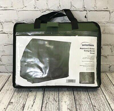 Premium 3 Seater Swing Hammock Waterproof Cover For Garden Bench (1.7m)