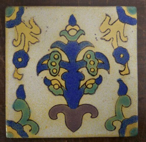 Tudor Decorative Tile Vintage California