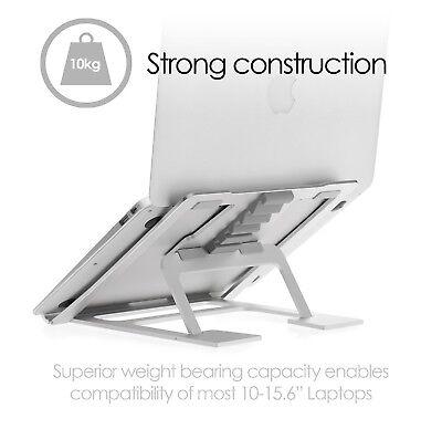 Laptop Portable Riser Computer Desk Stand for Macbooks Pro Air - Adjustable