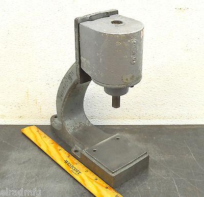 Mead-usa Ap-42 Bench Press 14 Ton Clicker Press Pneumatic Air Press 005