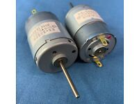 Mabuchi RS-385 Motor w// Gear HP Printer Paper Advance Motor 12V 6150 RPM
