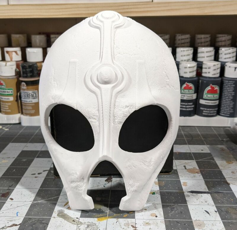 3d Printed Darth Nihilus Style Cosplay Mask Kit, Dark Lord of the Sith Hunger