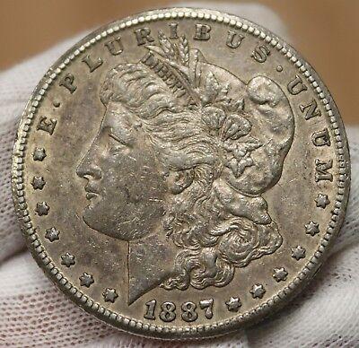 1887 S Morgan Silver Dollar Coin! 6