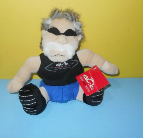"Orange County Choppers Licensed Plush Doll Collectible 10"" Paul Sr - Christmas"