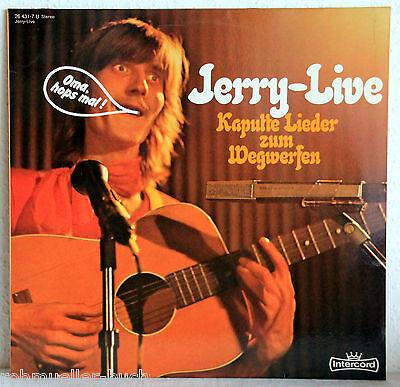 """12"""" Vinyl JERRY-LIVE - Kaputte Lieder zum Wegwerfen"""