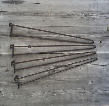 Hairpin legs set of 4 raw steel 72 cm  FREE SHIPPING Vaucluse Eastern Suburbs Preview