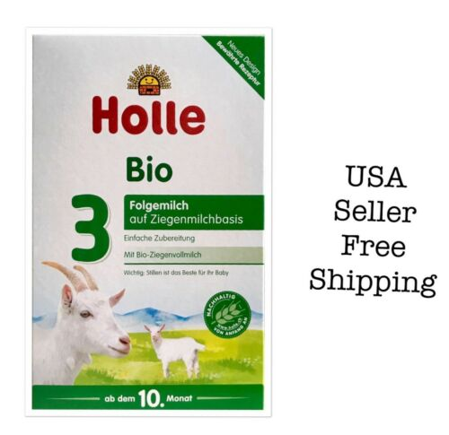 Holle Goat Milk Stage 3, 4 boxes exp 6/21
