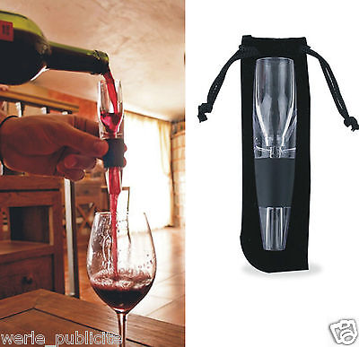 Magique decanteur aerateur pour bouteille de vin rouge bec verseur
