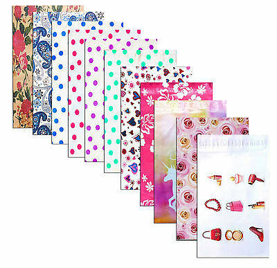 6x9 Designer Series -flat Poly Mailers Self Sealing Envelopes 10-50packs