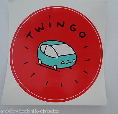 Aufkleber RENAULT TWINGO I 90er Jahre Sticker Autocollant