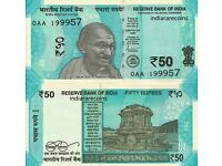 UNC Replacement Star Series 5GK Prefix 2018 India New 200 Rupees