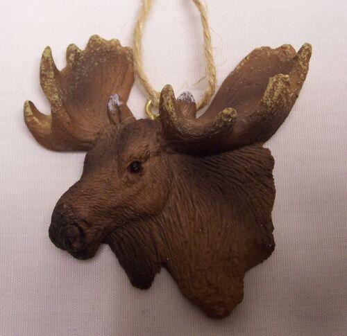 Moose Head Christmas Tree Ornament  (C3)