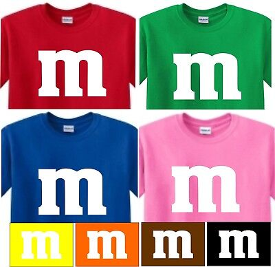 m t shirt M&M SHIRT Halloween CANDY costume  (Tshirt Costume)