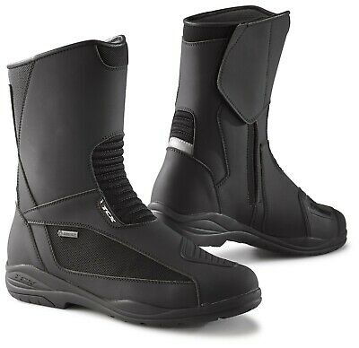 Explorer Gtx Boot (TCX EXPLORER EVO GTX BLACK MOTORCYCLE BOOTS - VARIOUS SIZES)
