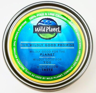 - Wild Planet Albacore Solid Wild Tuna in Extra Virgin Olive Oil, 5 Ounce Cans