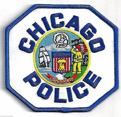 CHICAGO POLICE DEPARTMENT - IRON ON PATCH