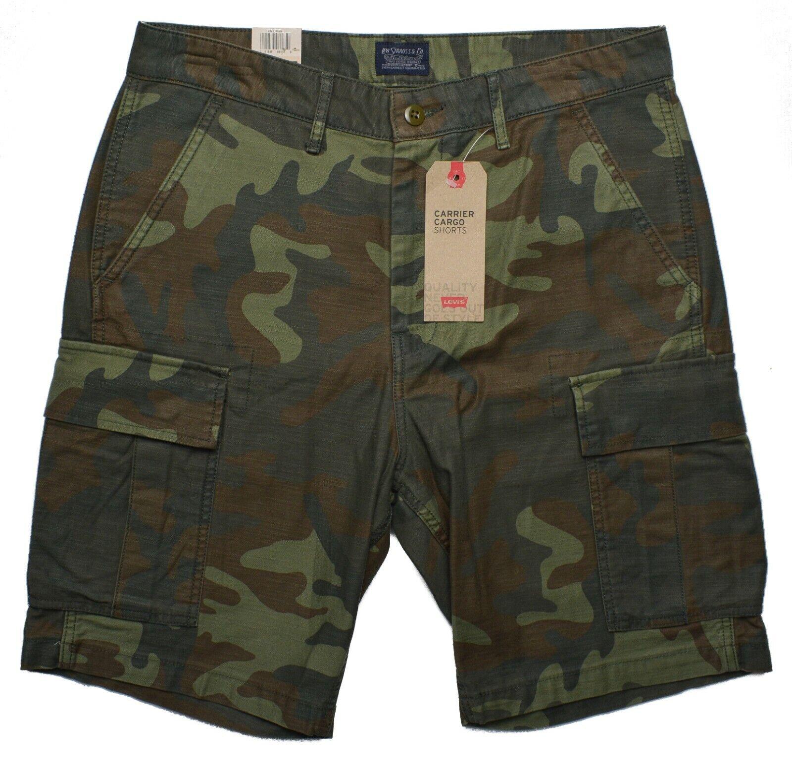Levi's #10102 NEW Men's Camouflage 100% Cotton Carrier Cargo