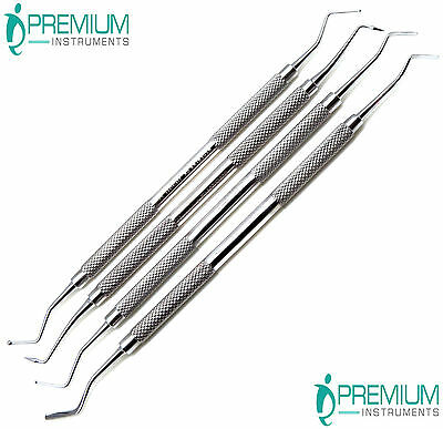 Dental Composite Filling Carvers Restorative Double Ended Instruments Set Of 4