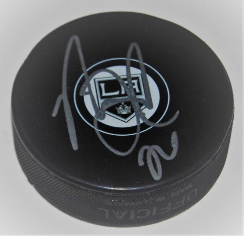 NICK SHORE signed (LOS ANGELES KINGS) souvenir logo hockey puck W/COA