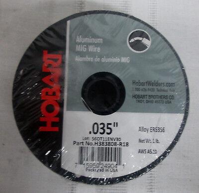 Hobart Aluminum Mig Welding Wire - 1-lb. Spool 0.035in. Model H383808-r18