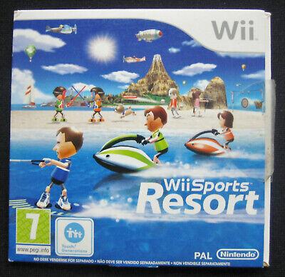 Gioco WII SPORTS RESORT per NINTENDO Wii - Italiano PAL (2009) - 5 in 1