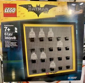Lego exclusive frame the Batman movie for minifigures