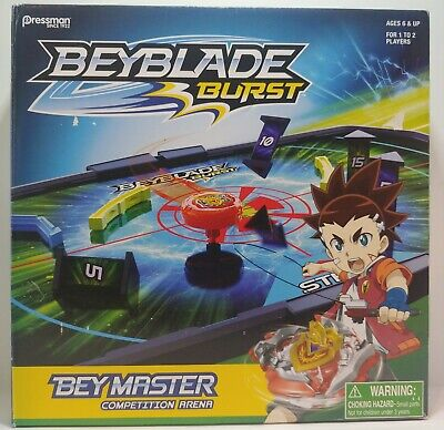 Beyblade Burst Bey Master Competition Arena Game for 1 or 2 players, 6 & Up NEW!