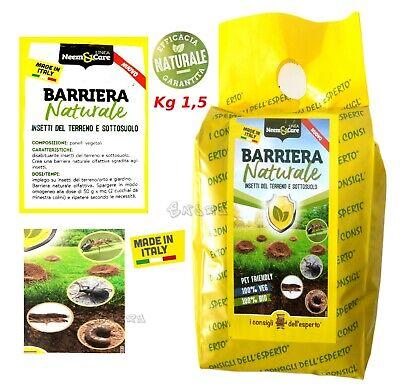 Aceite Neem Polvo Insecticida Natural Insectos Terreno Listo para Usar KG 1.5