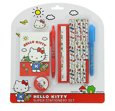 Hello Kitty Vintage Super Stationery Set