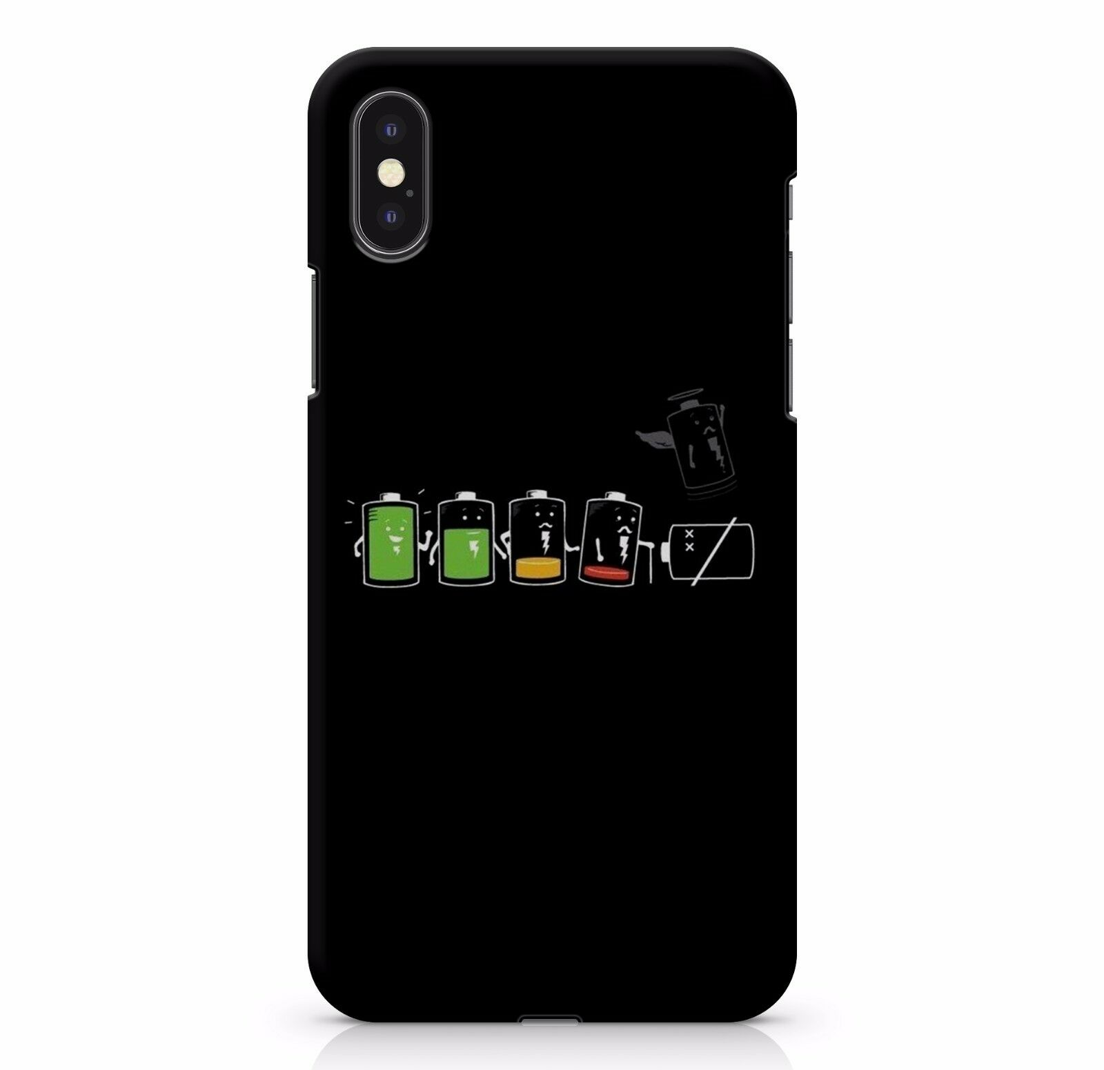 Funny Dead Battery Died Symbols Meme Phone Charger Charging Phone