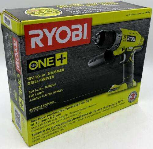 Ryobi P214 One+ 18 Volt Lithium Ion 1/2 Inch, 600-Pound Torq