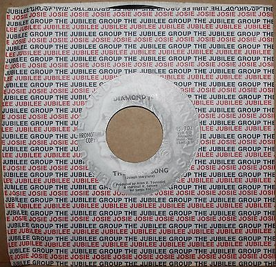 Diamond Joe Look Way Back  Abc Song  New Orleans Funk Soul 45 On Deesu 301 Promo