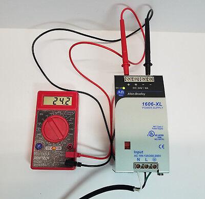 Allen Bradley 1606-xldnet4 Power Supply 2428 Vdc 4 Amp 100w - Tested