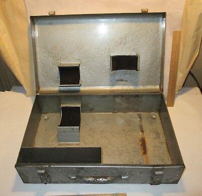 Cp-770 Chicago Pneumatic Impact Wrench Genuine Metal Tool Storage Box Case