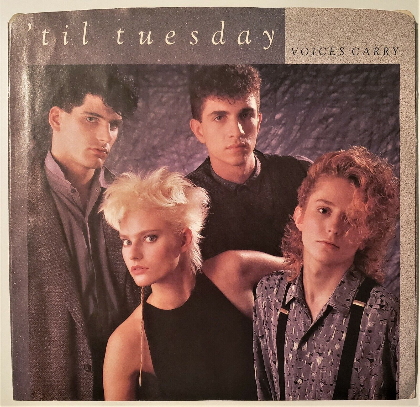 Til Tuesday Voices Carry/Are You Serious 45rpm W/PS NM - $4.00