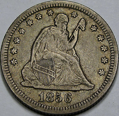 Click now to see the BUY IT NOW Price! 1856 O SEATED LIBERTY QUARTER DOLLAR CHOICE AU100 ORIGINAL AND SO NICE